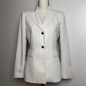 TAHARI Pinstripe Blazer in Size 4
